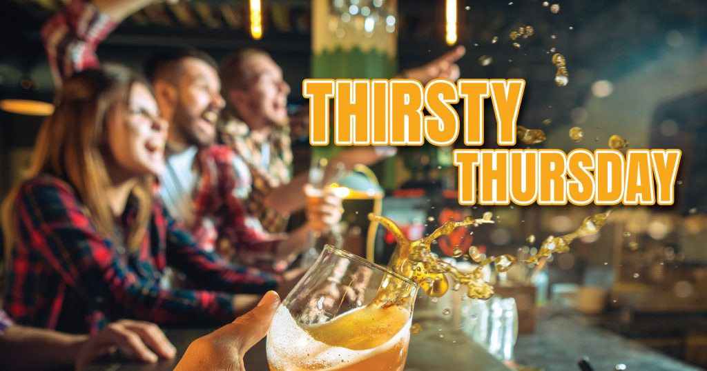 Thirsty Thursdays at Champ's in Myrtle Beach